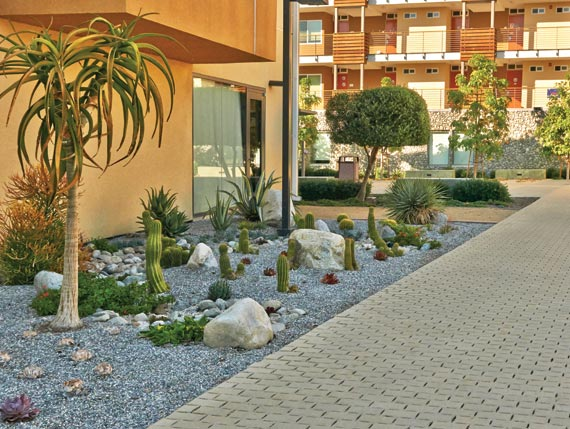Permeable Holland Paving Stones