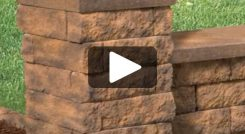 Building a Column Using Tango™ Lawn-and-Garden Project Block